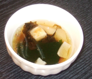 乾物のスープ