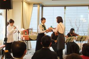 原田さんの表彰