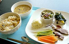 家庭中華料理のメニュー